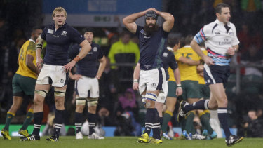Heat: Craig Joubert was pilloried for his performance in the 2015 Rugby World Cup quarter-final.