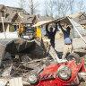 Tornado slams Alabama town under virus quarantine