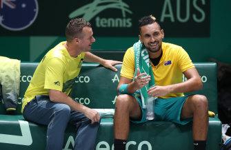 Kyrgios can 'push deep' into Australian Open: Hewitt