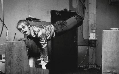 Rocket Man Elton John as you've never seen him