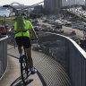 Cyclists face 'dangerous' detours during WestConnex construction