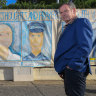 'Art connects us': School mural honours fallen police officers