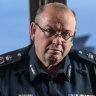 Victoria Police Chief Commissioner Graham Ashton.