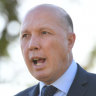 Home Affairs Minister Peter Dutton warned last year that hundreds of refugees would come to Australia for medical treatment.