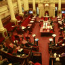 Lord's Prayer stays in State Parliament, but may not be there for ever and ever