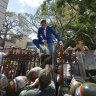 Chaos in Venezuela as military blocks MPs from parliament