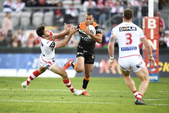 Moses Mbye is a target of the St George Illawarra Dragons.