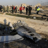 Iran says it has made arrests over plane disaster as protests rage on