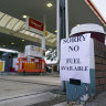 Up to two-thirds of independent petrol stations in the UK have run dry.