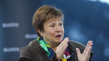 The IMF's Kristalina Georgieva said that recent global economic data was worse than expected.