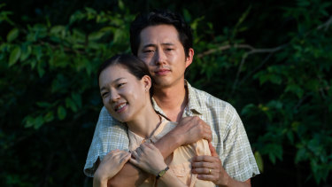 Fix the rule: Yeri Han and Steven Yeun in Minari.