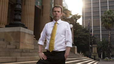"""There are some fairly blunt instruments that are available to the government"": Federal Education Minister Dan Tehan."