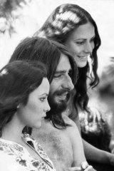 At the Sunbury Festival, January 1972.