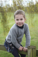 The royal family has released new photos of Princess Charlotte, taken by the Duchess of Cambridge ,