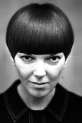 """""""Mary Quant embodied the look of her own brand,"""" says V&A curator Jenny Lister."""