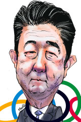 Shinzo Abe ... the enormous task of rescheduling the Olympics may yet work in his favour.