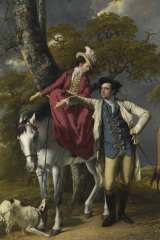 Joseph Wright's <i>Mr and Mrs Thomas Coltman</i> (1770-72) is visiting Canberra for Botticelli to Van Gogh.