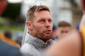 Sam Mitchell is among those being mentioned for the Collingwood coaching job.