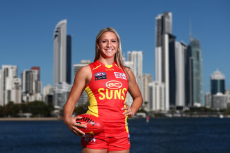 Teagan Levi also joined the Gold Coast.