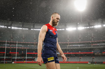 Demons fans would love to see Max Gawn and his teammates play for a flag at the MCG this year should the club make it that far but COVID restrictions may make that difficult.