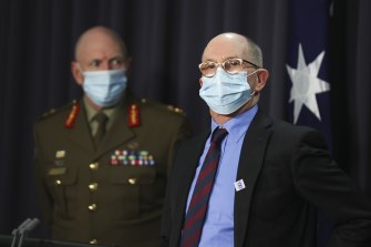 """Chief Medical Officer Paul Kelly says NSW needs a """"circuit breaker"""""""