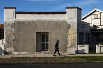 Empty streets in Canterbury in Sydney during July's COVID-19 lockdown.