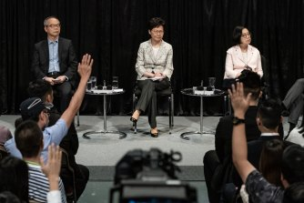 The public dialogue was held just days out from China's National Day celebrations.