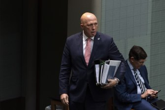 Defence Minister Peter Dutton is suing a refugee advocate over a tweet.