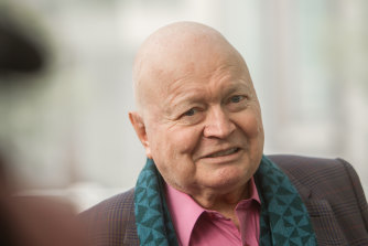 Bert Newton has had his leg amputated after an infection.
