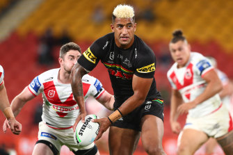 Viliame Kikau was eager to rubbish talk of him linking with the Dragons.