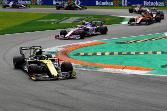 Daniel Ricciardo and Renault had their best performance of the season at the Italian Grand Prix.