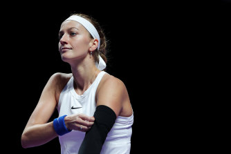 Petra Kvitova won 61 per cent of rallies after Barty faulted.