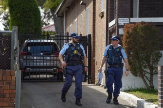 Police are speaking to neighbours, hoping to gain insight into Monday night's shooting.