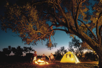 Campsites are in increasingly hot demand with the easing of COVID-19 restrictions.