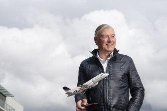 Rex Airlines' deputy chairman John Sharp has queried Qantas' stand-downs.