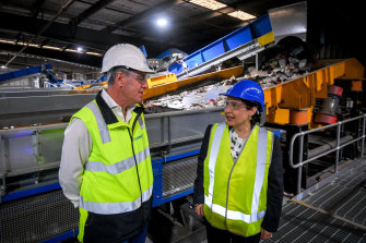 Cleanaway's Laverton North plant will recycle an extra 20,000 tonnes of plastics every year.