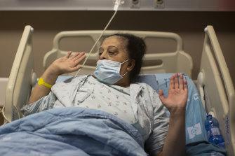 Randa Aweis has spoken to the donor's widow.