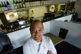 Marumo chef and owner Moe Oo.
