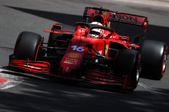 Charles Leclerc will start on pole.