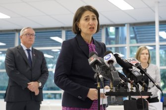 Premier Gladys Berejiklian said the one million people in NSW aged between 40 and 49 can now register to have their Pfizer COVID-19 vaccination.
