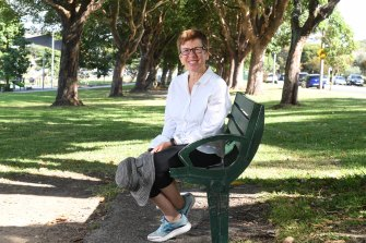 Dulwich Hill resident Jo Blackman has altered her preferred daily exercise routes.