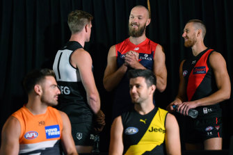 AFL players will have a phone hook-up on Tuesday to discuss the league's hub plans.