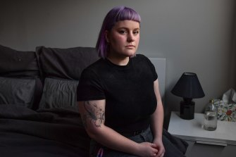 """Meg Dolphin, 22, says """"something needs to change"""" or young people will never be able to buy a home."""