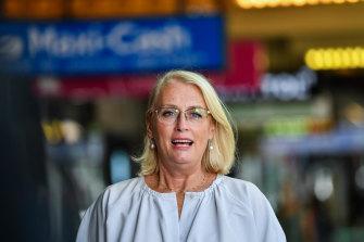 Melbourne's Lord Mayor Sally Capp.