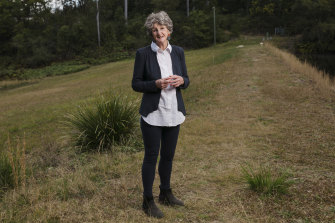 "Lyndall Parris, founder of Narara village on the NSW Central Coast, has watched her vision for a better community become reality. ""For me, it's so joyful."""