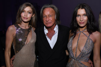 Mohamed Hadid, pictured with daughters Gigi and Bella, insists that the house would not be a danger, but a judge has disagreed.