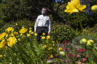 Spring has sprung:  To mark the first day of spring, the Royal Botanic Garden's annual display on the spring walk buzzed with bees and insects, and its manager curator David Laughlin.