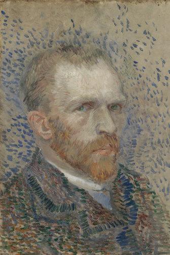 A Vincent van Gogh self-portrait.