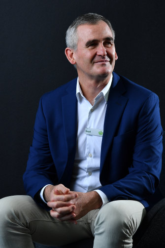 Brad Banducci, chief executive of Woolworths.