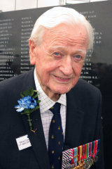 Wing Commander Tom Neil, one of the last surviving Battle of Britain aces.